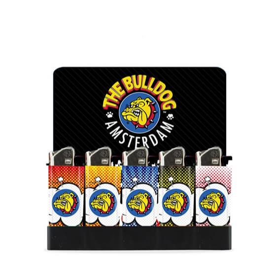 THE BULLDOG MINI LIGHTER CLOUD (50 UNIDADES)